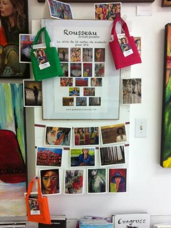 16 cartes de souhaits de Madeleine Rousseau
