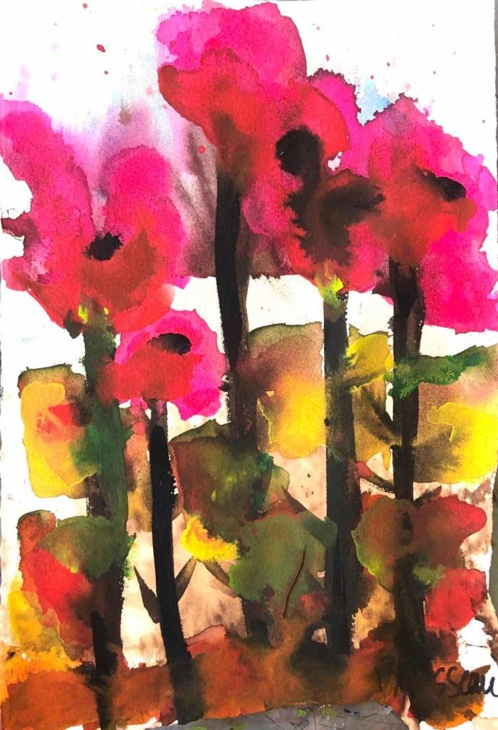 """Fleurs sauvages 71/2"""" x 11"""""""