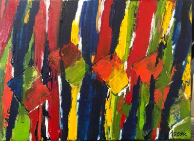 """Abstraction/Nice! 12"""" x 16"""""""